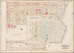 Double Page Plate No. 11: [Bounded by Prospect Avenue, Eleventh Avenue, Terrace Place, Gravesend Avenue, Fort Hamilton Avenue, Thirty Seventh Street, Ninth Avenue, Thirty Ninth Street and Fifth Avenue.]