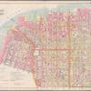 Double Page Plate No. 1: [Bounded by Marshall St., Little St., Evans St., (United States Navy Yard) Hudson Ave., Johnson St., Main Fulton St., Clark St., (East River Docks) Furman ave., Fulton St., Water St., Dock St, Plymouth St. and Pearl St.]