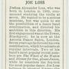 Joe Loss.