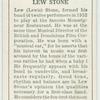 Lew Stone.
