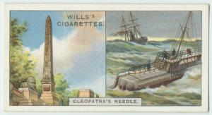 Do you know the story of Cleopatra's Needle?