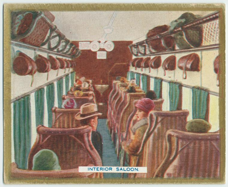 Interior saloon.