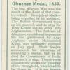 Ghuznee medal, 1839.