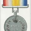 Afghan war medals, 1842.