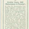 Punniar Star, 1843.