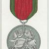 Turkish Crimean medal, 1855.
