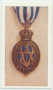 The Albert medal (Sea).
