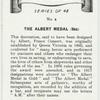 The Albert medal (Sea).
