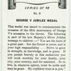 George V Jubilee medal.