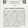 Naval general service medal.