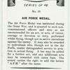 Air Force medal.
