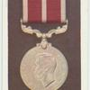 Meritorious service medal.