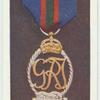 Officer's decoration Royal Naval Volunteer Reserve.
