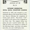 Officer's decoration Royal Naval Volunteer Reserve.