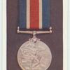 Naval good shooting medal.