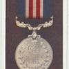 The military medal.