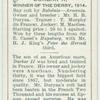 """Durbar"" Derby, 1914."