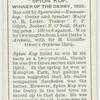 """""""Spion Kop"""" Derby, 1920."""