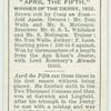 """""""April the Fifth"""" Derby, 1932."""
