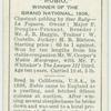 """""""Rubio"""" Derby, 1908."""