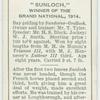 """""""Sunloch"""" Grand National, 1914."""