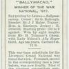 """""""Ballymacad"""" War National, 1917."""