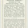 """Master Robert"" Grand National, 1924."
