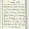 """""""Hereward""""."""