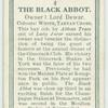 The Black Abbot.