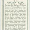 Golden Rain.