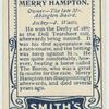 Merry Hampton.