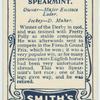 Spearmint.