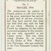 M. MacGee, 1914.