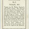 Tagalie, 1912.
