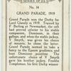 Grand Parade, 1919.