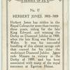 H. Jones, 1900-1909.