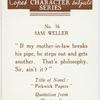 Sam Weller.