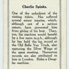 Charlie Spinks.
