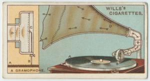 Do you know how a gramophone acts?