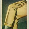 Why do men wear a crease down the centre of their trousers?