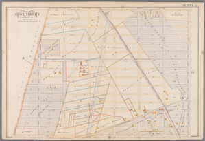 Plate 12: [Bounded by 4rd Street, Fourteenth Avenue, 58th Street, Eighth Avenue, 49th Street and Ninth Avenue.]