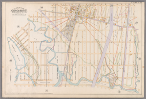 Plate 22: [Bounded by Avenue U, (Stryker Basin) E. 12th Street, Canal Avenue, Sillwell Avenue, (Harway Basin) Cropsey Avenue, Bay 46th Street, Stillwell Avenue, Avenue V and W. 8th Street.]