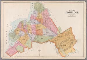 Plate 32: Map of the City of Brooklyn, Kings Co., N.Y.