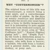 """Do you know why """"Costermonger""""?"""