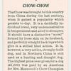 Chow chow.