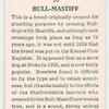 Bull-mastiff.