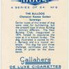 The Bulldog.