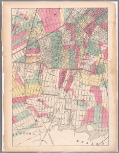 [Sheet 7: Map encompassing Williamsburg, E. Williamsburg and Bushwick.