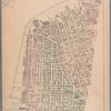 Sheet 1: [Bounded by Hudson Street, John Street, Gold Street, Bridge Street, Chapel Street, Jay Street, Myrtle Avenue, Pearl Street, Willoughby [Street], Boerum Street, Pacific Street, Columbia Street, Atlantic Street, Furman Street, Fulton Street, Water Street and Washington Street.]