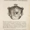 Gerb roda kniazei Boriatinskikh. Coat of arms of the family of princes Boriatinskys.